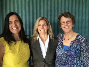 Photo of Professor Jenn Stuber, Sue Eastgard and Tina Orwall